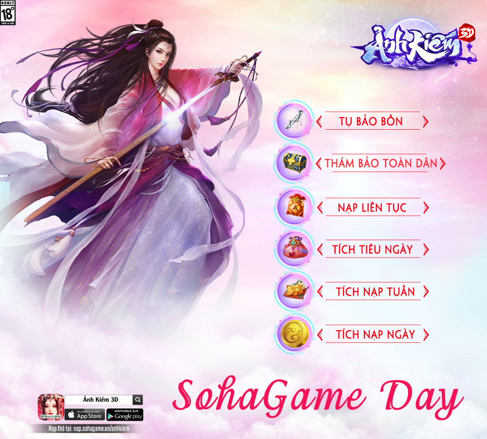 SOHAGAME DAY THÁNG 1