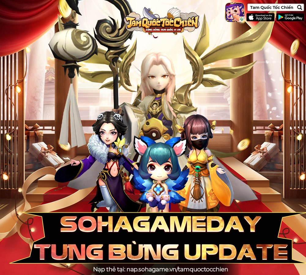【HOT】SOHAGAMEDAY - TƯNG BỪNG UPDATE - 1