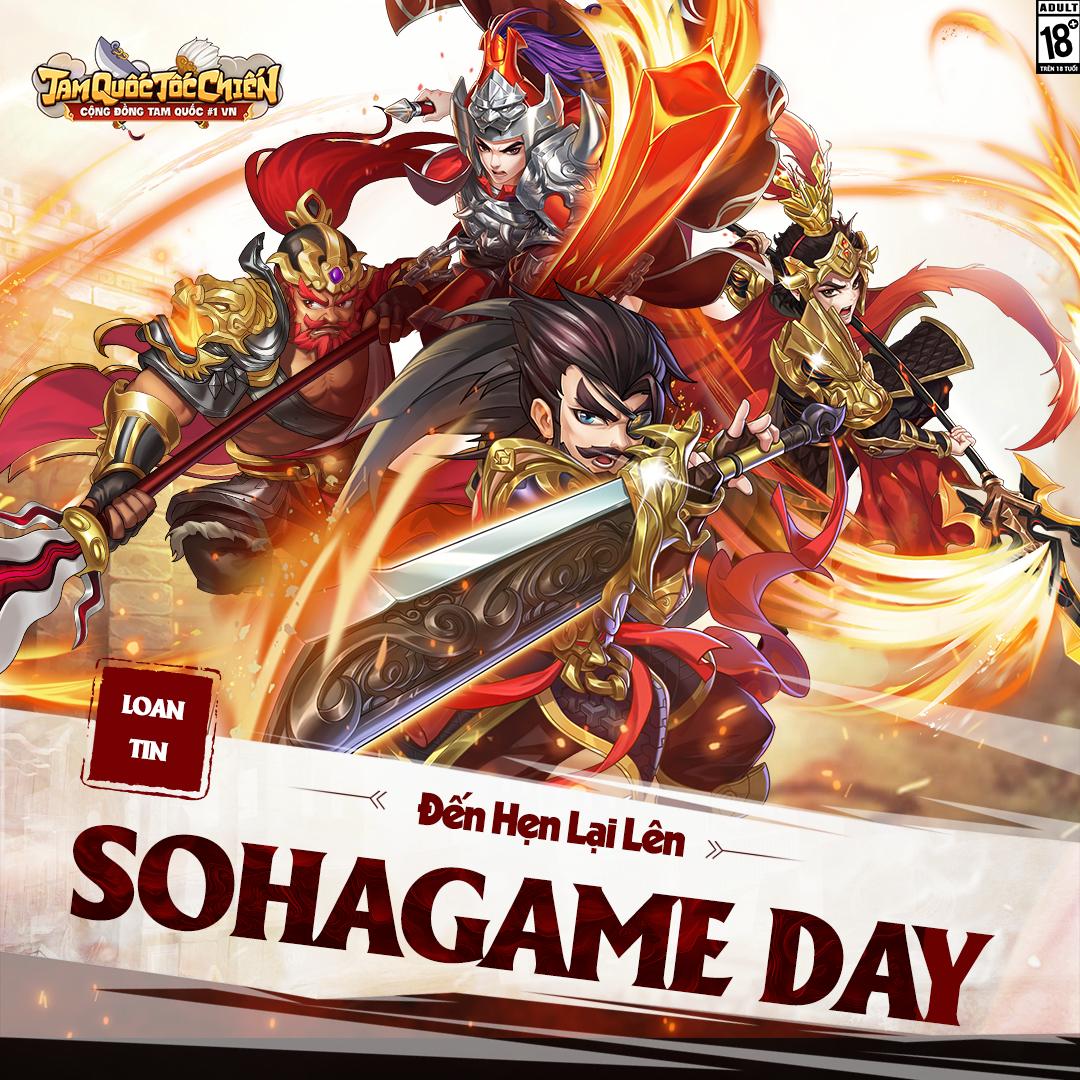 [SỰ KIỆN] LOAN TIN SOHAGAME DAY - 1