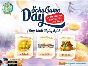 [Sự Kiện] SohaGame Day - Chào Tháng 5 Rực Rỡ