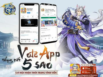 [Tổng Kết] Sự Kiện Vote App 5 Sao Ngày 10/11
