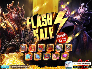 [Sự Kiện Ưu Đãi] Flash Sale Duy Nhất 15/09