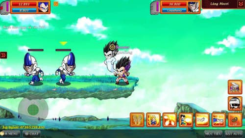 Hình game 4: Gotenks skill
